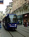 Brno, Město Brno, tramvaj K2R.JPG