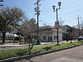 Broadway Food Store NOLA Feb 2012 Lamp Post.JPG