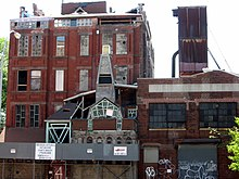 A picture of The Broken Angel House in Brooklyn on May 16, 2007.