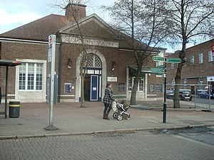 Bromley - Bromley North Railway Station