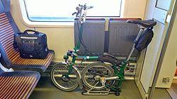 Pyörä Junassa