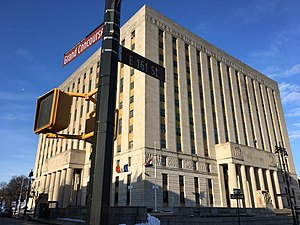 Bronx Courthouse at 161st and Grand Concourse