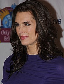 Brooke Shields - the hot, beautiful, cute,  actress  with German, French, Irish, Scottish, English, Dutch, Welsh,  roots in 2017