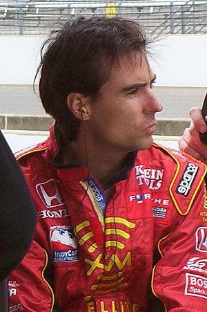 Bryan Herta - Bryan Herta at the Indianapolis Motor Speedway in 2004.