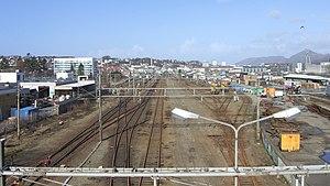 Jæren Line - The yard at Brueland