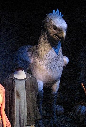 Buck, l'hippogriffe, Harry Potter Exhibition, Cité du Cinéma, Saint Denis (Paris), 2015.jpg