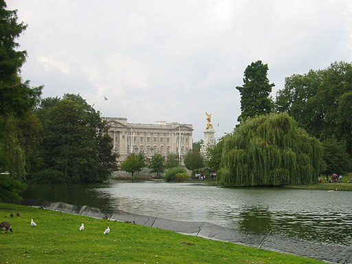 Buckingham Palace from the Park