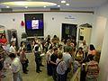 Bucuresti, Romania. Teatrul NOTTARA. (Holul de la intrare cu public. Spectacol Secretul fericirii). 21 Iunie 2017.jpg