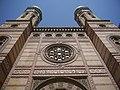 Budapest Große Synagoge Fassade 8.JPG