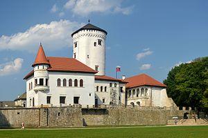 Budatín Castle - Budatín Castle, August 2015