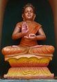 Buddha statue at Dwaraka Tirumala Temple 02.jpg