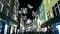 Buildings along Carnaby street at Christmas time, corner with Lowndes Court.jpg