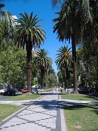 Nicasio Oroño - Oroño Boulevard in downtown Rosario, named after Nicasio Oroño.