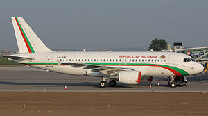 28th Air Detachment - Bulgarian Air Force Airbus A319