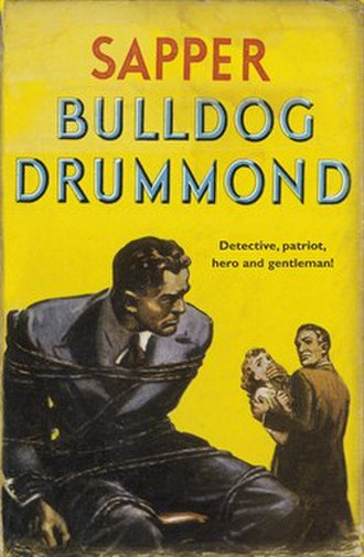 H. C. McNeile - First edition cover of Bulldog Drummond