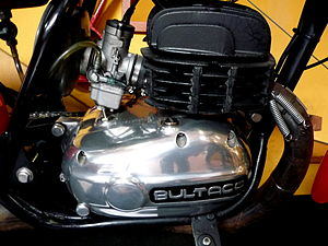 Bultaco - Bultaco engine detail