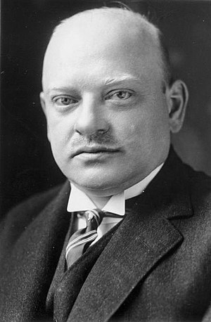Minister for Foreign Affairs (Germany) - Gustav Stresemann, one of Germany's most influential Foreign Ministers and a 1926 Nobel Peace Prize laureate