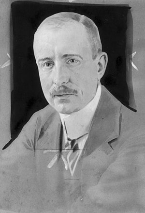 Bedburg - Wilhelm von Mirbach-Harff in 1917