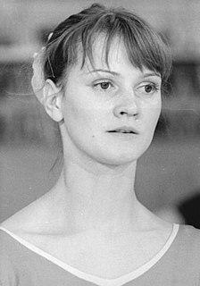 Karin Büttner-Janz East German gymnast