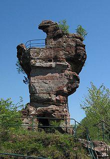 Drachenfels Castle (Wasgau) #