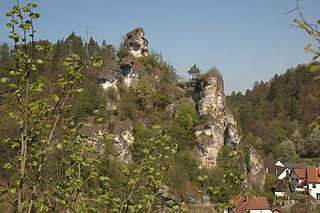 Upper Tüchersfeld Castle rock castle