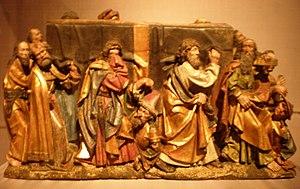 Erasmus Grasser - The Burial of the Virgin, by Erasmus Grasser,Late 15th Century. (in Museum Legion of Honor