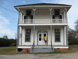 Burnt Corn, Alabama - Image: Burnt Corn, Alabama, Front view of Lowrey's General Store and Post Office