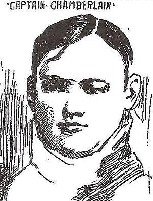 Burr Chamberlain - Portrait of Chamberlain from The World of New York, September 26, 1898