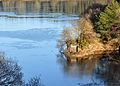 Burrator reservoir bridge and ice.jpg