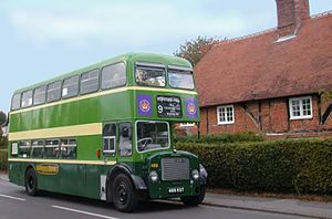 Crookham Village - Image: Bus Crookham Village