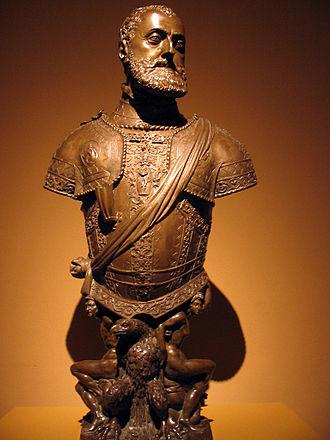 Leone Leoni - Charles V, Holy Roman Emperor, Prado.