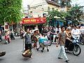Busy street in Hanoi.JPG