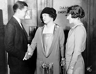 James Gleason directed the Broadway production of George S. Kaufman's The Butter and Egg Man (1925), in which his wife Lucile Webster (center) appeared with Gregory Kelly and Sylvia Field. Butter-and-Egg-Man-1.jpg