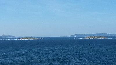 Cíes Islands from Baiona.jpg
