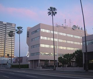 CBS Columbia Square Historic radio and television studio in Los Angeles, California
