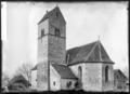 CH-NB - Kirchbühl, Kirche St. Martin, vue partielle extérieure - Collection Max van Berchem - EAD-6764.tif