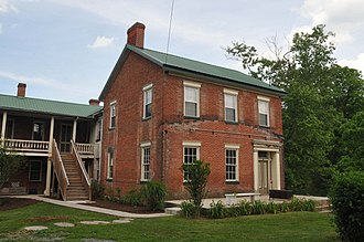Chalybeate Springs Hotel - Image: CHALYBEATE SPRINGS HOTEL, BEDFORD TOWNSHIP, BEDFORD COUNTY, PA