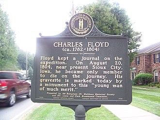 Floyd's Station, Kentucky - Image: CHARLESFLOYD