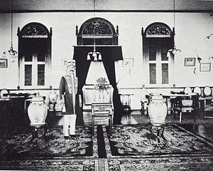Bulungan Regency - Sultan Maulana Mohamad Jalaluddin of Bulungan (1931).