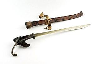 Gari (sword) - A Gari, pre-1918.