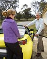 CSIRO ScienceImage 7847 Dr Franzi Poldy and Dr Deborah OConnell are exploring alternatives for fuelling Australias cars.jpg