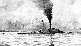 Battle of Elizabeth City - CSS Albemarle