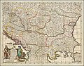 Ca. 1680 map of the Kingdom of Hungary and the Balkan peninsula by Frederick De Wit.jpg