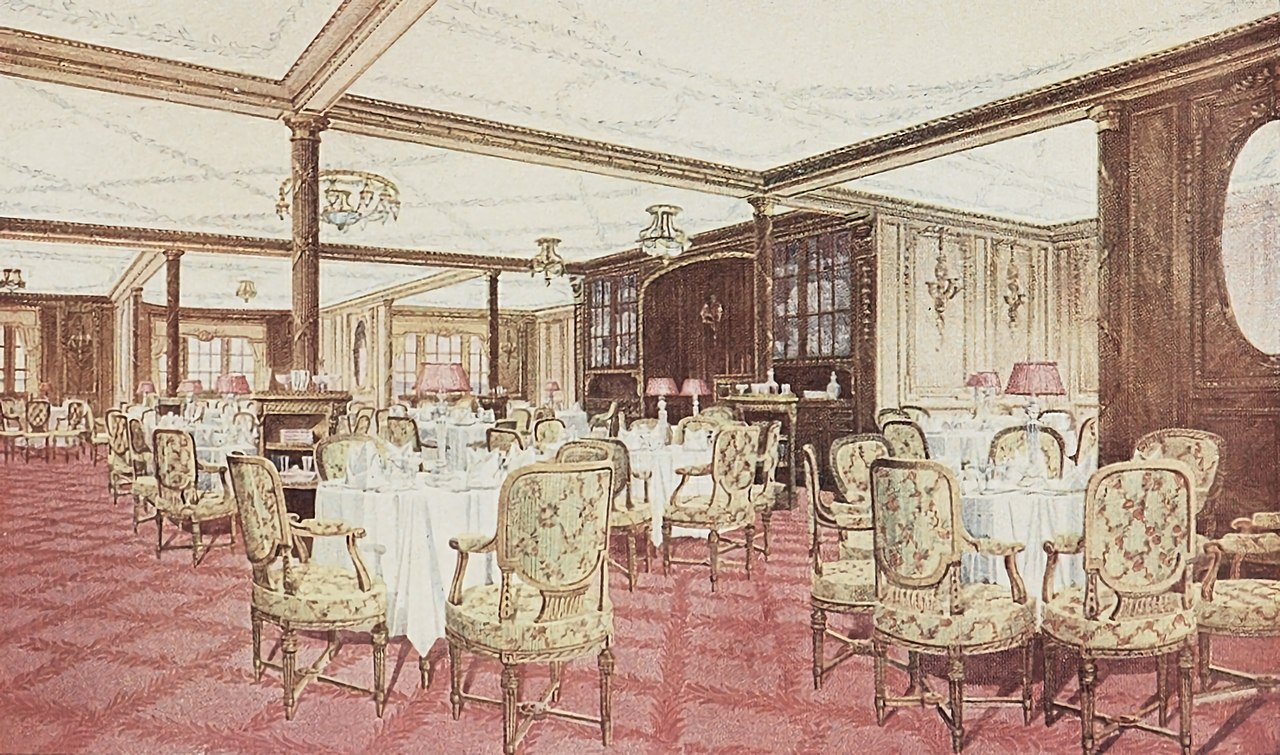 First class facilities of the Titanic   Wikiwand