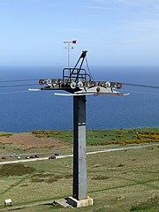 Cable car pylon on Great Orme Summit - geograph.org.uk - 159315.jpg