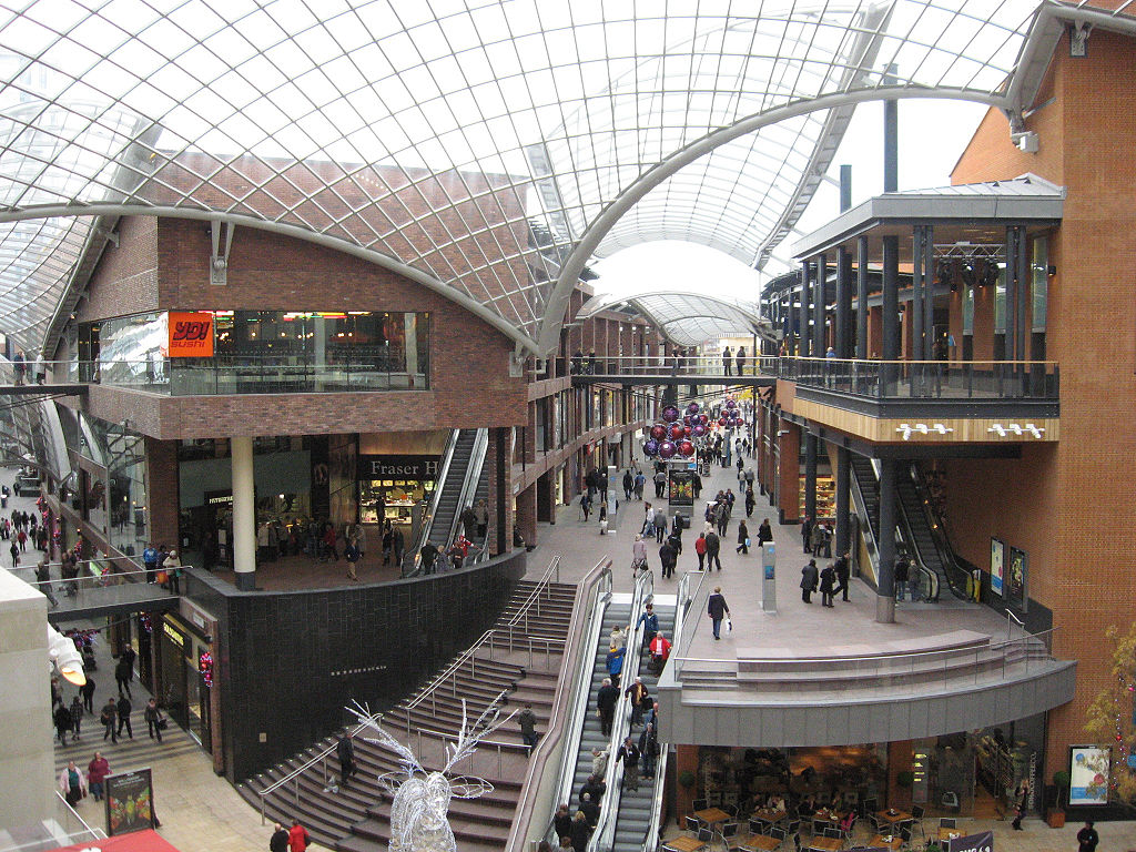 nice shopping centres uk