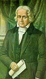 José Bonifácio retratado por Benedito Calixto.