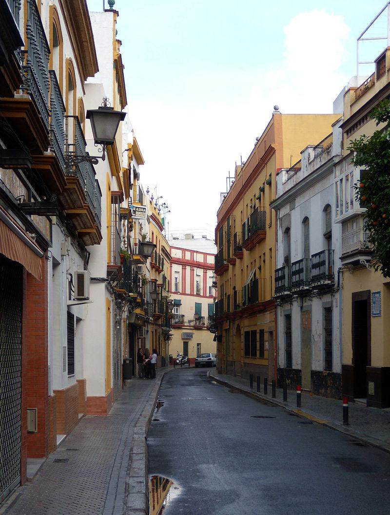 Notre voyage en andalousie - Calle correduria sevilla ...