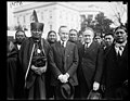 Calvin Coolidge and group of Native Americans at White House, Washington, D.C. LCCN2016893093.jpg