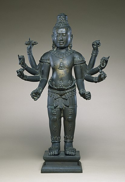 File:Cambodian - Eight-armed Avalokiteshvara - Walters 542726.jpg